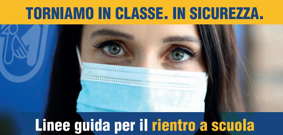 """""""Linee guida per il rientro a scuola in sicurezza"""" redatte dalla Regione Marche. Ordinanza regionale 20 gennaio 2021 n.2, precisazioni."""