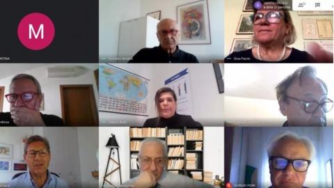 """I Maestri Del Lavoro incontrano gli studenti dell' ITET Carducci Galilei di Fermo. """"La ricerca del Lavoro"""" l'argomento al centro"""